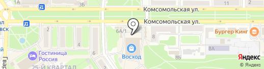 Мебель тут дешевле на карте Новомосковска