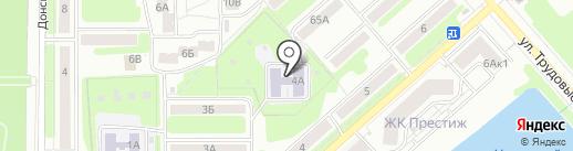 Детский сад №60 на карте Новомосковска