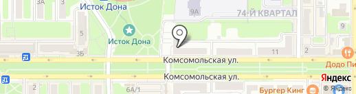 ТМК на карте Новомосковска