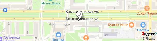 Современная стоматология на карте Новомосковска