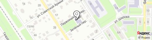 Центр медицинской профилактики, МУЗ на карте Новомосковска