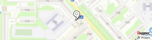 Связной на карте Новомосковска