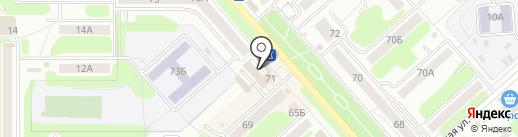 Фотоателье на карте Новомосковска