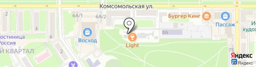 Восток-Сервис-Тула на карте Новомосковска
