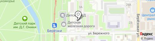 Милена Richi на карте Новомосковска