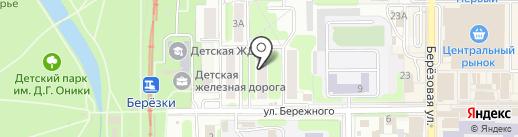 Сеть аптек на карте Новомосковска