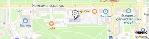 Детский сад №2 на карте Новомосковска