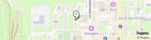 Для знойных дам на карте Новомосковска