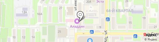 Вираж на карте Новомосковска