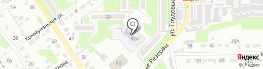 Детский сад №59 на карте Новомосковска