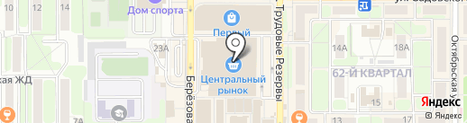 Банкомат, ВТБ 24 на карте Новомосковска