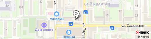Пассаж на карте Новомосковска