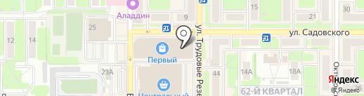 Мир часов на карте Новомосковска