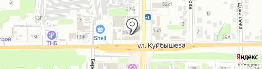 Умелец на карте Новомосковска
