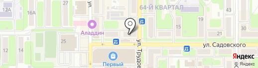 Алмаз-Холдинг на карте Новомосковска