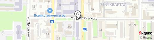 Росинетл на карте Новомосковска
