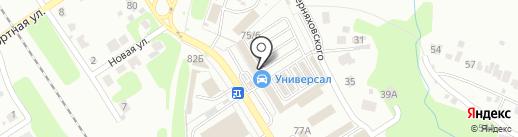 Кредит-Авто+ на карте Новомосковска