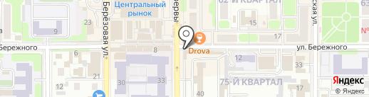 Лилит на карте Новомосковска