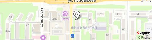 Торекс на карте Новомосковска