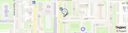 Микроденьги на карте Новомосковска