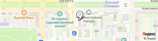 ДОСТУПНЫЕ ОКНА на карте Новомосковска