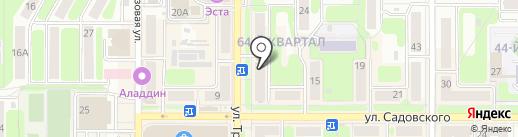 Workshop на карте Новомосковска