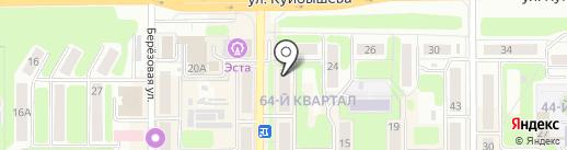 Luxe мебель на карте Новомосковска