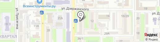 Мир младенца на карте Новомосковска