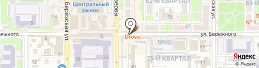 Центр учебной книги на карте Новомосковска