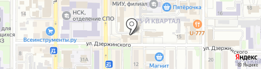 Ростелеком, ПАО на карте Новомосковска