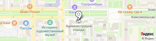 Отдел муниципального контроля на карте Новомосковска