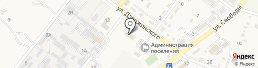 КУБАНЬНЕФТЕПРОДУКТ, ПАО на карте Ахтырского