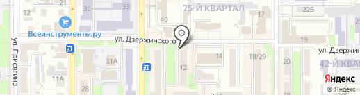 ВСК, СОАО на карте Новомосковска