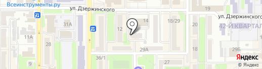 Планета света на карте Новомосковска
