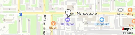 ТЕЛО В ДЕЛО на карте Новомосковска