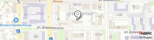 Мастер Град на карте Новомосковска