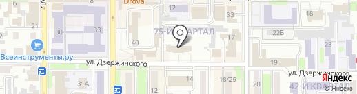 АльфаСтрахование на карте Новомосковска