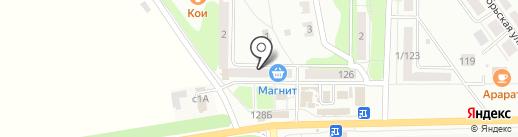 Донской-7 на карте Донского