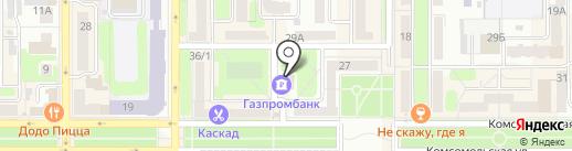 Слон на карте Новомосковска