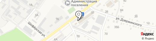 Мебельный двор на карте Ахтырского