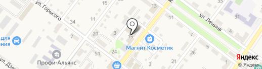 Зори кубани на карте Ахтырского