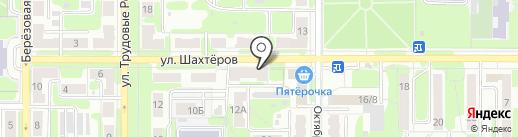 Юлис на карте Новомосковска