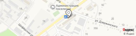 Васюринский МПК на карте Ахтырского