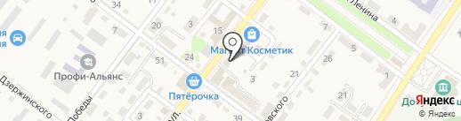 Совкомбанк, ПАО на карте Ахтырского