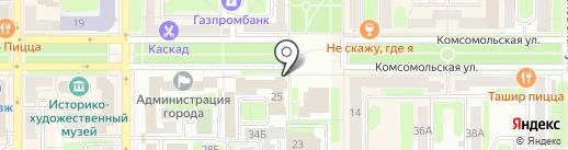 Банкомат, Банк ВТБ 24, ПАО на карте Новомосковска