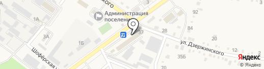 Обувной магазин на карте Ахтырского