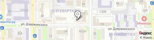 Феникс на карте Новомосковска