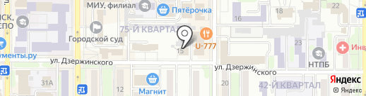 Центр риэлторских услуг на карте Новомосковска