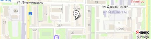 НМ-Принт на карте Новомосковска