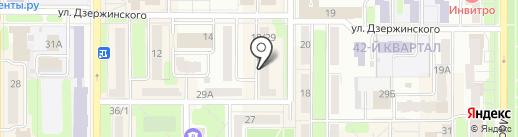 Медицинский центр на карте Новомосковска